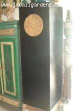 Tall modern Chinese style black cabinet