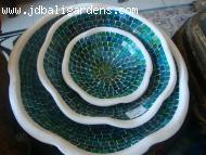 Blue green bowl