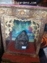 Gold wood Burmese shrine